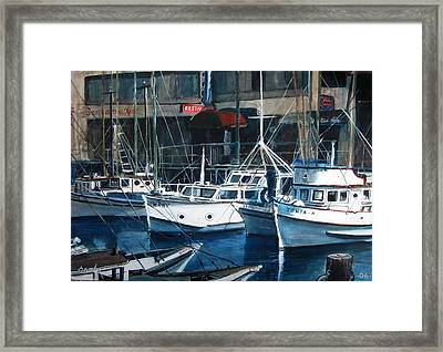 Tonia Framed Print by William  Brody