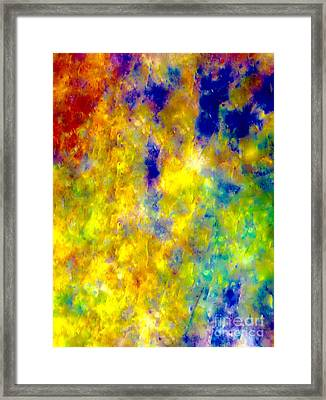 Tonight A Little Bubbly Framed Print by Catalina Walker