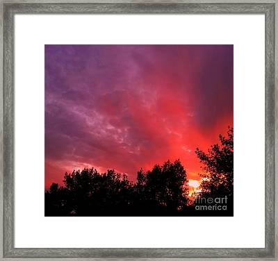 Tonight Framed Print