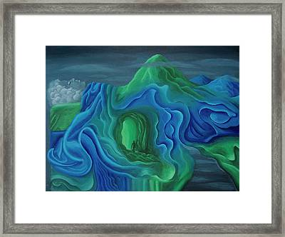 Tonights Shadows Tomorrows Dawn Framed Print