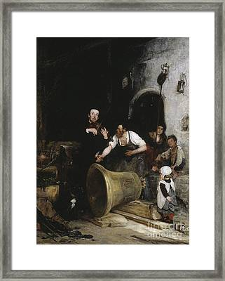 Toning The Bell Framed Print