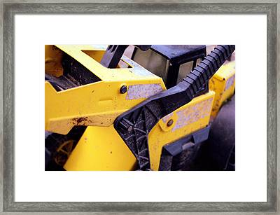 Tonka Load Framed Print by Jame Hayes