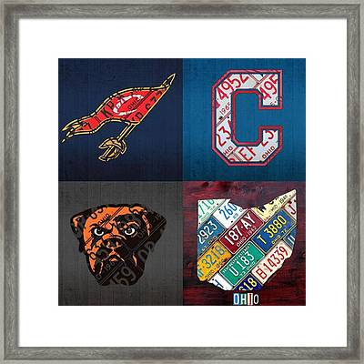 Tons More Sports City Designs Just Framed Print