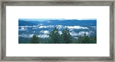 Tonto Basin Tonto National Forest Az Usa Framed Print by Panoramic Images