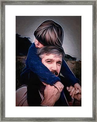 Tony And Rachel Framed Print