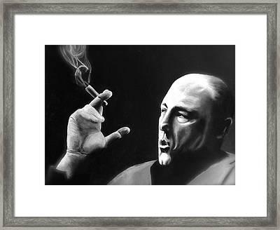 Tony Framed Print by Benjamin Gassmann