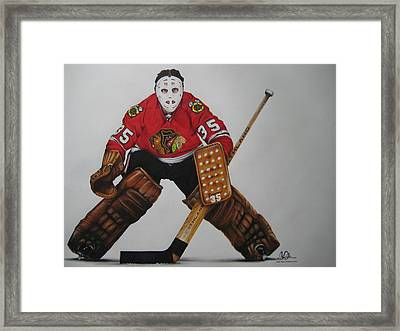 Tony Esposito Framed Print by Brian Schuster