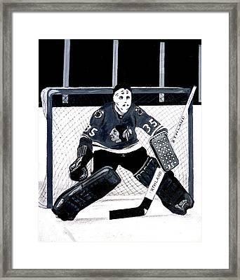 Tony Esposito Framed Print