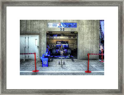 Tony Kanaan Indy Framed Print