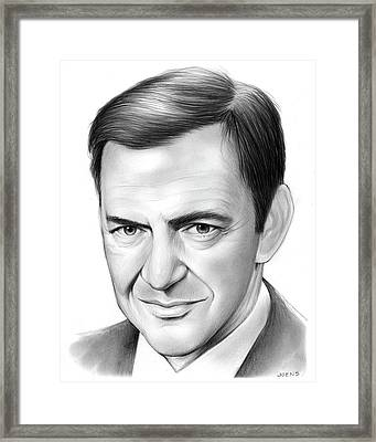 Tony Randall Framed Print by Greg Joens