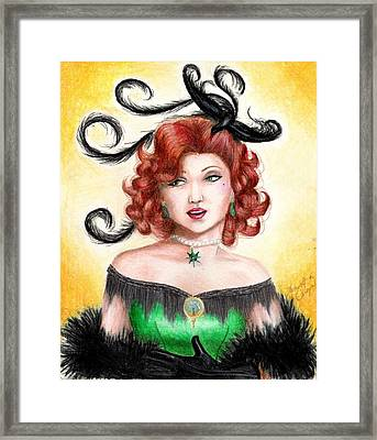 Tonya Framed Print by Scarlett Royal