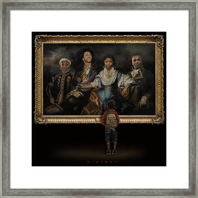 Tony's History Framed Print by TuTchT