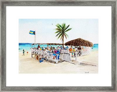 Tony's Place Framed Print