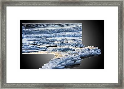 Too Big For The Frame Framed Print by Allan Levin