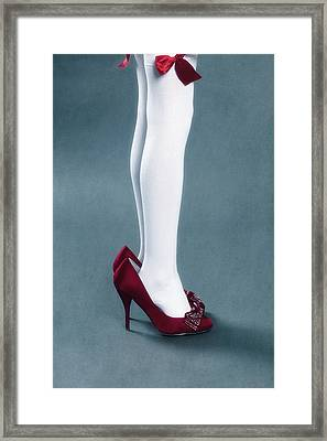 Too Big Shoes Framed Print by Joana Kruse