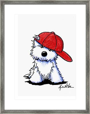 Too Cool For School Framed Print by Kim Niles