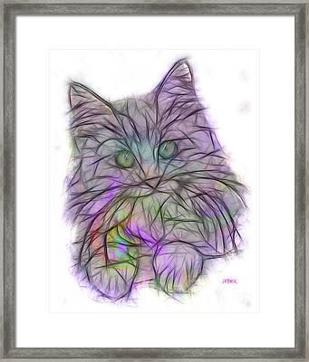 Too Cute Framed Print