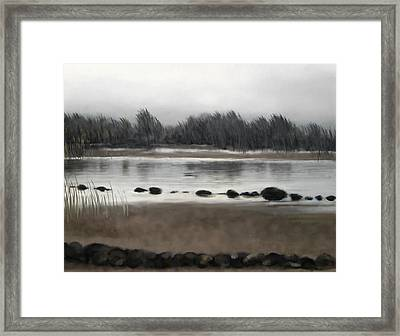 Too Early Out Framed Print