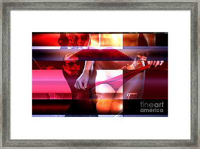 Too Hot Too Handle Framed Print