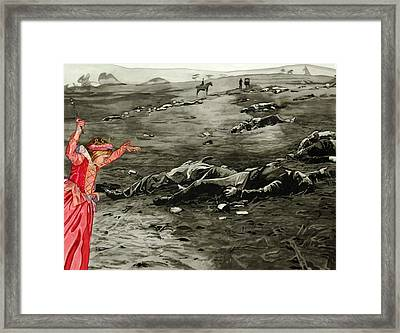 Too Late Framed Print by Valerie Patterson