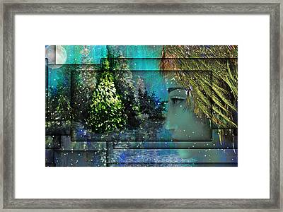 Too Many Winters Abstract Framed Print by Patricia Motley
