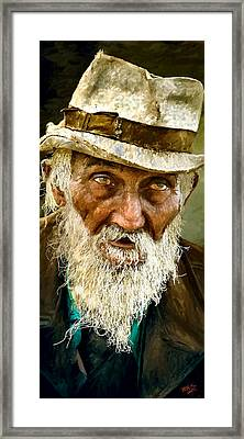 Too Old To Die Young Now Framed Print by James Shepherd