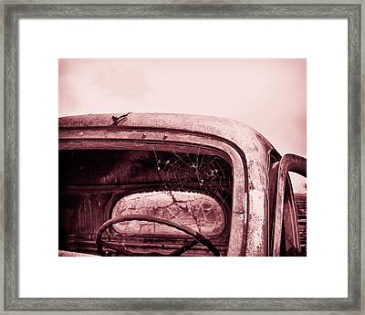 Framed Print featuring the photograph Too Old To Drive by Mary Hone