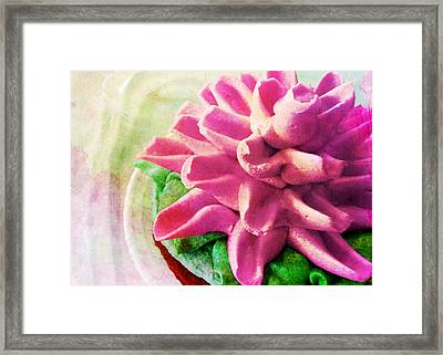 Too Pretty To Eat Framed Print by JAMART Photography