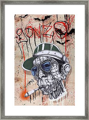 Too Weird To Live Too Rare To Die Framed Print by Tai Taeoalii