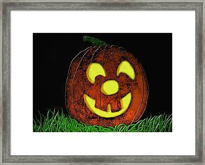 Toofers Framed Print by Kevin Caudill
