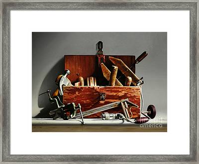 Tool Box #2 Framed Print