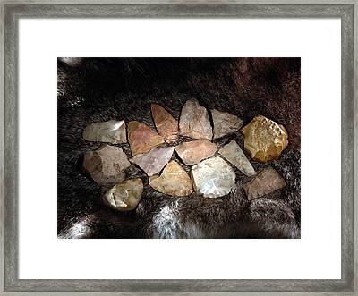 Tools Framed Print by Daniel Alcocer