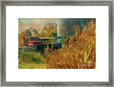 Tools Of The Trade Framed Print by Lois Bryan