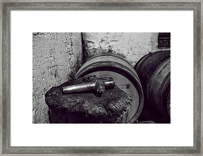 Tools Of The Trade - Wine Making Framed Print by Georgia Fowler