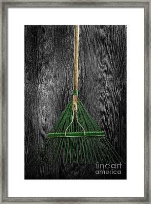 Tools On Wood 10 On Bw Framed Print by YoPedro