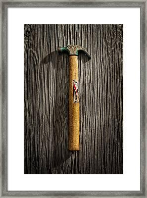 Tools On Wood 17 Framed Print