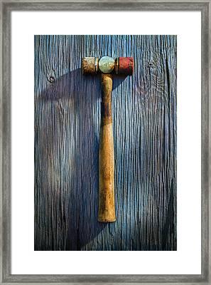 Tools On Wood 20 Framed Print
