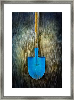 Tools On Wood 23 Framed Print
