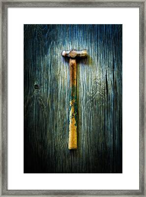 Tools On Wood 38 Framed Print by YoPedro