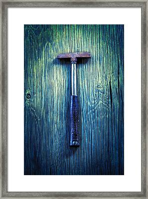 Tools On Wood 39 Framed Print by YoPedro