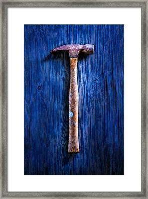 Tools On Wood 41 Framed Print by YoPedro