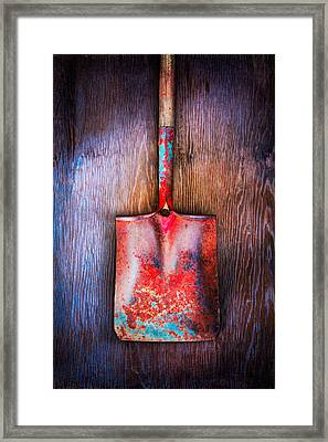 Tools On Wood 47 Framed Print by YoPedro