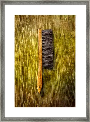 Tools On Wood 52 Framed Print by YoPedro