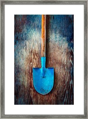 Tools On Wood 72 Framed Print