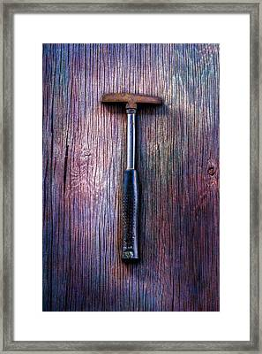 Tools On Wood 74 Framed Print by YoPedro