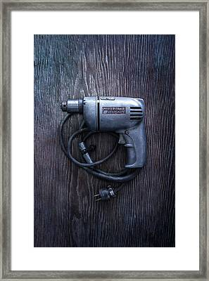 Tools On Wood 76 Framed Print by YoPedro