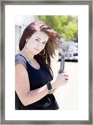 Tools Framed Print by Jorgo Photography - Wall Art Gallery