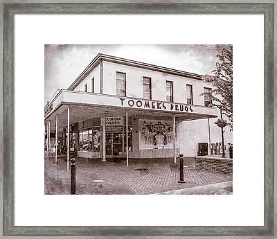Toomer's Corner - #3 Framed Print