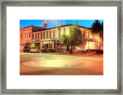 Toomers Corner Framed Print by JC Findley