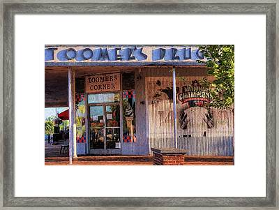 Toomer's Drugs Framed Print by JC Findley